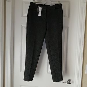 WHBM Slim Ankle herringbone pants sz 2 NWT!